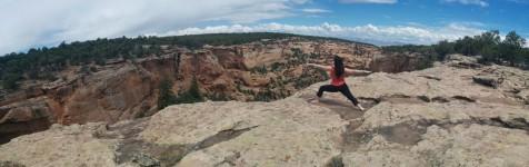 yoga warrior 1